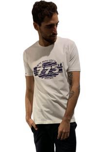 Camiseta 775 Retro Zebra - Off White