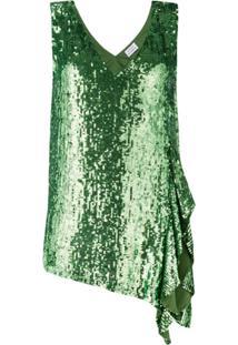 P.A.R.O.S.H. Blusa De Paetês - Verde