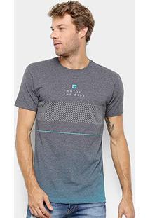 Camiseta Hang Loose Estampada Pavones Masculina - Masculino