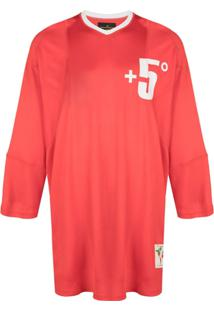 Vivienne Westwood Anglomania Pourpoint Oversized Top - Vermelho