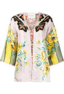 Etro Printed Lightweight Jacket - Rosa