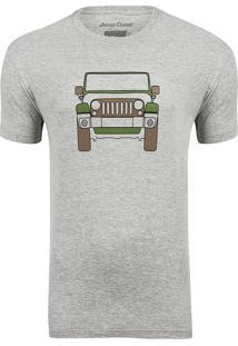 Camiseta Jeep Wrangler Clean - Cinza Mescla