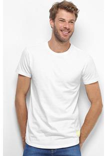 Camiseta Calvin Klein Long Masculina - Masculino-Branco