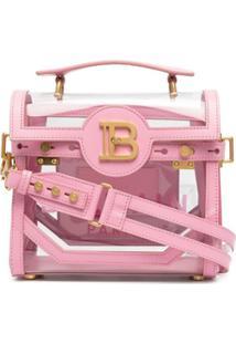 Balmain Bolsa Tote B-Buzz 23 - Rosa