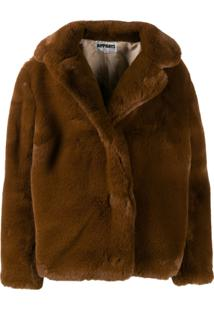 Apparis Faux-Fur Jacket - Marrom