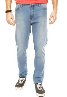 Calça Coca-Cola Jeans Bolsos Azul