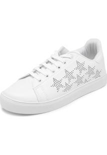 Tênis Fiveblu Estrelas Branco