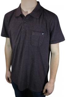 Camisa Polo Billabong Piquet - Masculino