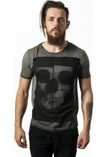 Camiseta Skull Lab - Masculino