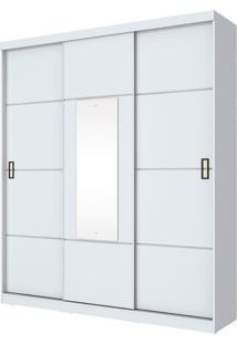 Guarda Roupa Silver 3 Portas Branco