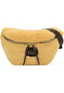 Aries Oversized Belt Bag - Marrom