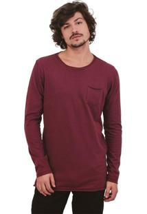Camiseta Urbô Cotton Cold Vinho