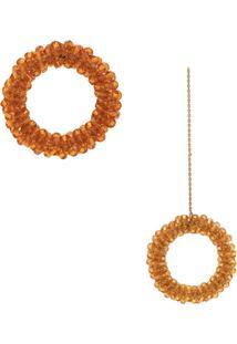 Jacquemus Les Boucles Drop Earrings - Laranja