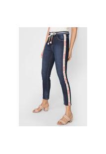 Calça Jeans Morena Rosa Skinny Isadora Azul