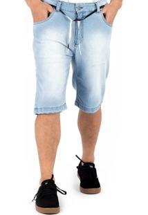 Bermuda Alfa Jeans Pro Model Gui Zolin Delave - Masculino