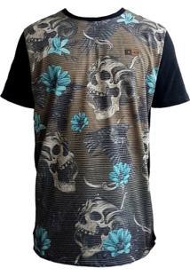 Camiseta Mcd Especial Scream Skull Marrom - Masculino