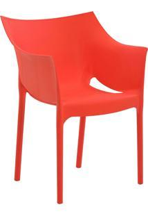 Cadeira Tais Vermelha Rivatti Móveis