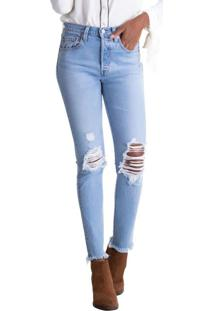 Calça Jeans Levis 501 Skinny - 26X32