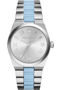 Relógio Michael Kors Feminino - Feminino-Prata