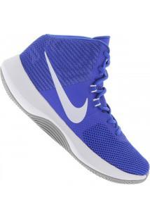 Tênis Nike Air Precision - Masculino - Azul/Branco