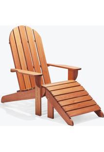 Cadeira Adirondack - Com Peseira