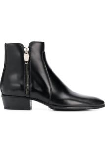 Balmain Ankle Boot Mike - Preto