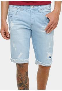 Bermuda Jeans Triton Indigo 9.5Oz Masculina - Masculino