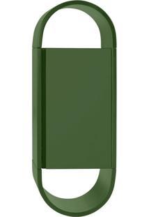 Armário Para Banheiro Wish 1Pt Verde Musgo