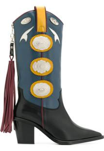 Toga Pulla Bota Cowboy - Azul