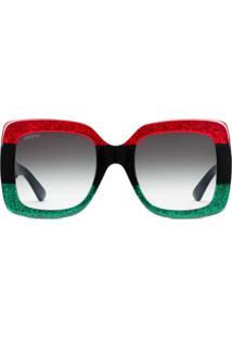 092e64bc72024 R  3856,00. Farfetch Óculos De Sol Gucci Feminino ...