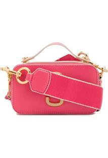Marc Jacobs Snapshot Crossbody Bag - Rosa