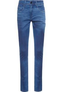 Calça Jeans Masculina Super Skinny - Azul
