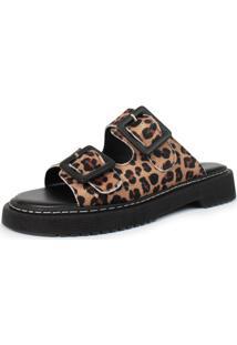 Birken Damannu Shoes Amy Animal Print Onça - Tricae
