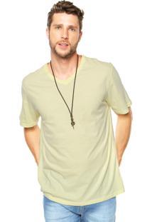 Camiseta Malwee Gola V Amarela