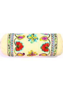 Capa De Almofada Moneta 18X50 Cor: Multicolorido - Tamanho: Único