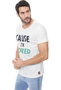 Camiseta Colcci Bored Branca