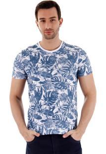 Camiseta Estampada Masculina Svk - Branco