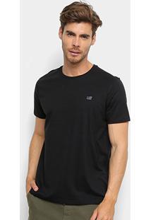 Camiseta Ellus 2Nd Floor Co Basic Masculina - Masculino-Preto
