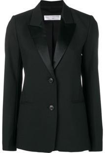 Victoria Beckham Blazer Com Abotoamento - Preto