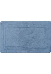 Tapete De Banheiro Bogotã¡- Azul- 80X50Cm- Sultansultan