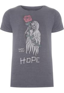 Camiseta Masculina No Dope, No Hope - Cinza