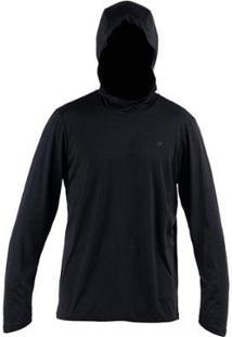 Camiseta Dry Comfort 2A Uv Mormaii Masculino - Masculino-Preto