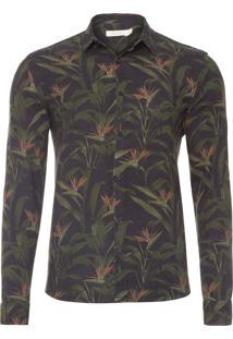 Camisa Masculina Selvagem - Preto