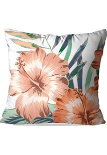 Capa De Almofada Avulsa Floral Paradise 45X45Cm