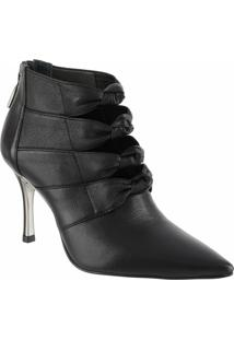 Bota Ankle Boot 80209 - Saara Preto