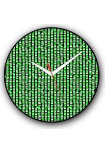 Relógio De Parede Colours Creative Photo Decor Decorativo, Criativo E Diferente - Montagem Do Memorial Da América Latina
