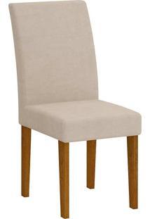 Cadeira Grécia - Rufato - Imbuia / Creme