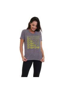Camiseta Jay Jay Básica Inspire Chumbo