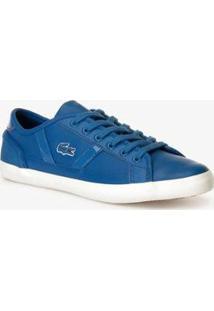 Tênis Lacoste Sportswear Feminino - Feminino-Azul+Branco