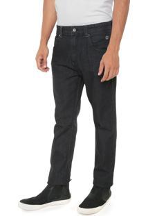 Calça Jeans Timberland Slim Bordado Preta